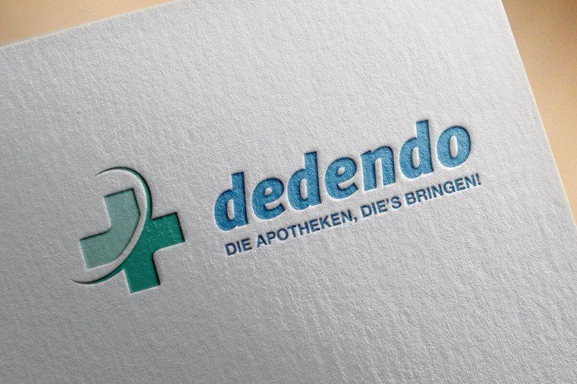 Gestaltung des Logos für die online Apotheke dedendo