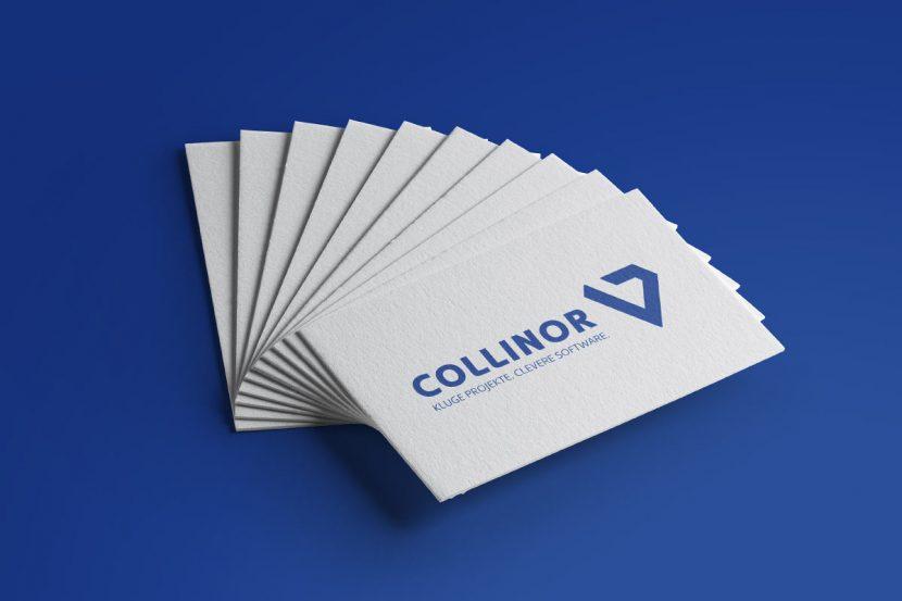 Gestaltung eines Logos für die Collinor Software GmbH