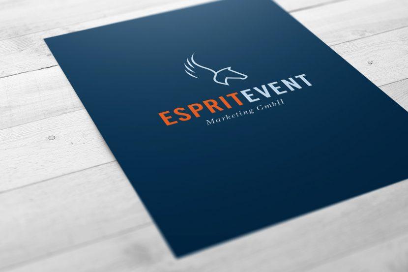 Gestaltung eines Logos für Eventagentur in Wiesbaden
