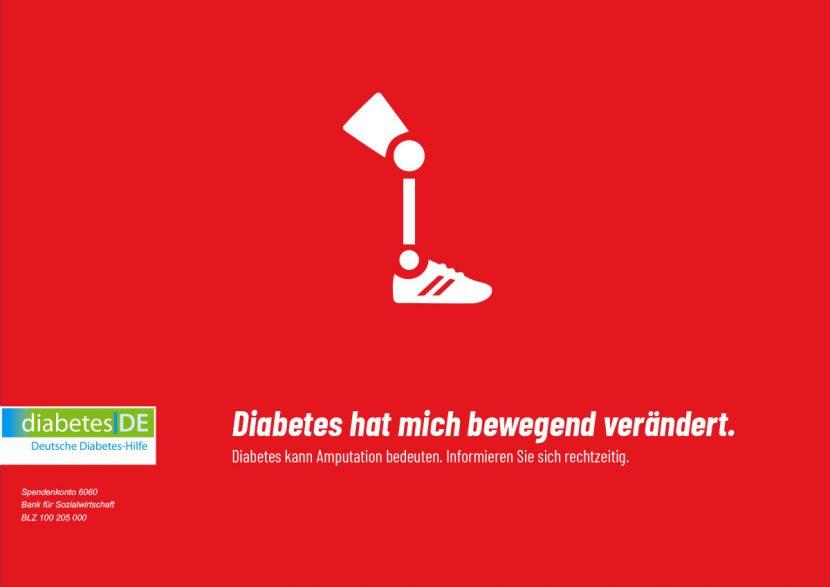 Kampagnen Idee für Diabates - Gestaltung von Poster oder Plakat