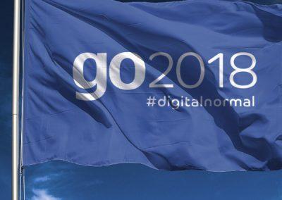Erscheinungsbild go2018 Konferenz