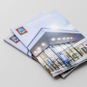 Print Grafikdesign: Broschüre für ALDI Süd