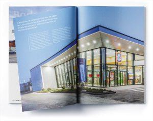 Print: Grafikdesign Broschüre für Aldi Süd
